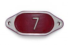 Schnalle Aluminium Hydro Rot Nr. 7-0