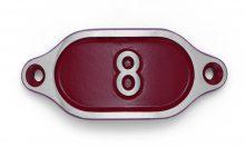 Schnalle Aluminium Hydro Rot Nr. 8-0