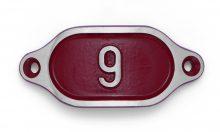 Schnalle Aluminium Hydro Rot Nr. 9-0