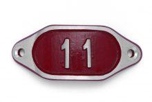 Schnalle Aluminium Hydro Rot Nr. 11-0