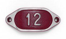 Schnalle Aluminium Hydro Rot Nr. 12-0