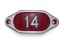 Schnalle Aluminium Hydro Rot Nr. 14-0