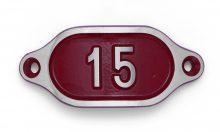 Schnalle Aluminium Hydro Rot Nr. 15-0