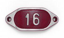 Schnalle Aluminium Hydro Rot Nr. 16-0