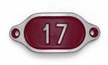 Schnalle Aluminium Hydro Rot Nr. 17-0