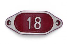 Schnalle Aluminium Hydro Rot Nr. 18-0