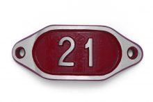 Schnalle Aluminium Hydro Rot Nr. 21-0