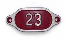 Schnalle Aluminium Hydro Rot Nr. 23-0
