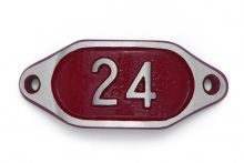 Schnalle Aluminium Hydro Rot Nr. 24-0