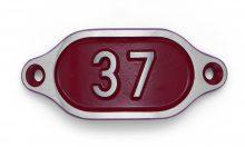 Schnalle Aluminium Hydro Rot Nr. 37-0