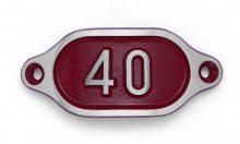 Schnalle Aluminium Hydro Rot Nr. 40-0