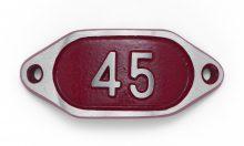 Schnalle Aluminium Hydro Rot Nr. 45-0