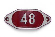 Schnalle Aluminium Hydro Rot Nr. 48-0
