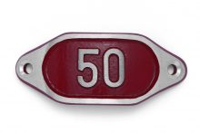 Schnalle Aluminium Hydro Rot Nr. 50-0
