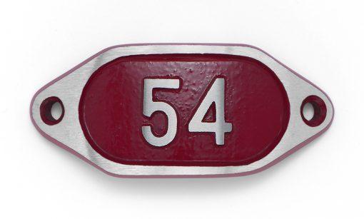 Schnalle Aluminium Hydro Rot Nr. 54-0