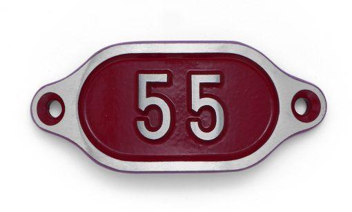 Schnalle Aluminium Hydro Rot Nr. 55-0