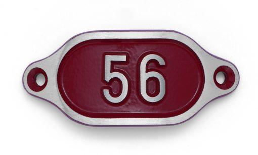 Schnalle Aluminium Hydro Rot Nr. 56-0