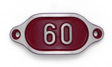Schnalle Aluminium Hydro Rot Nr. 60-0