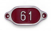 Schnalle Aluminium Hydro Rot Nr. 61-0