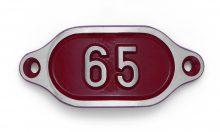 Schnalle Aluminium Hydro Rot Nr. 65-0