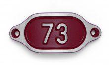 Schnalle Aluminium Hydro Rot Nr. 73-0