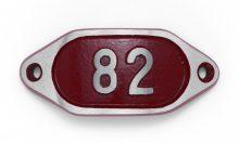 Schnalle Aluminium Hydro Rot Nr. 82-0