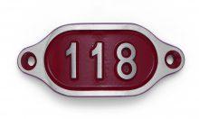 Schnalle Aluminium Hydro Rot Nr. 118-0
