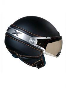 NEXX Helm Ice Schwarz/Orange Grösse XL-0