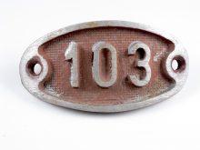 Schnalle Aluminium Original Nr. 103-0