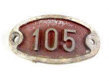 Schnalle Aluminium Original Nr. 105-0