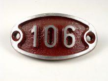 Schnalle Aluminium Original Nr. 106-0