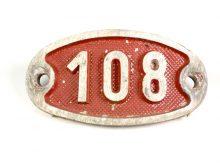 Schnalle Aluminium Original Nr. 108-0
