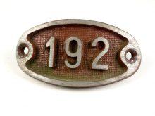 Schnalle Aluminium Original Nr. 192-0