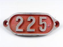 Schnalle Aluminium Original Nr. 225-0