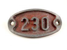 Schnalle Aluminium Original Nr. 230-0
