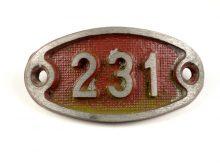 Schnalle Aluminium Original Nr. 231-0