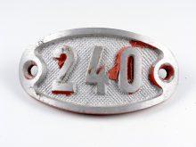 Schnalle Aluminium Original Nr. 240-0