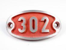 Schnalle Aluminium Original Nr. 302-0