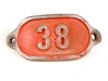Schnalle Aluminium Original Nr. 38-0