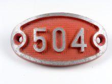 Schnalle Aluminium Original Nr. 504-0