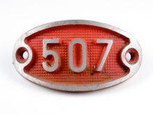 Schnalle Aluminium Original Nr. 507-0