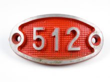 Schnalle Aluminium Original Nr. 512-0