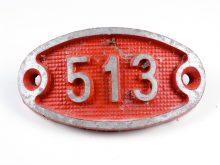 Schnalle Aluminium Original Nr. 513-0