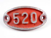 Schnalle Aluminium Original Nr. 520-0