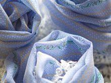 EDELWEISS Foulard Blau-7645
