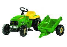 rollyKid Traktor John Deere mit Anhänger-0