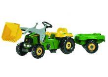 rollyKid Traktor John Deere mit Lader und Anhänger-0
