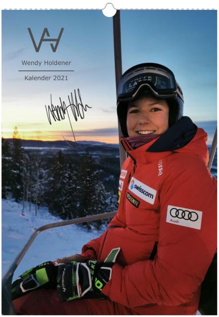 Wendy Holdener Kalender 2021